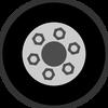 Luggage wheel repair spare part