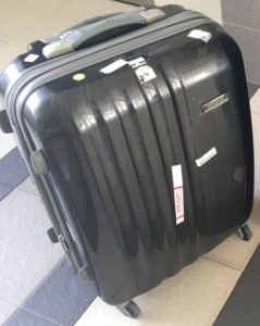 American Tourister wheel replacement