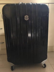 Manchester United Football Club luggage wheels replacement
