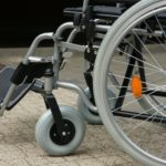 Wheelchair wheel repair